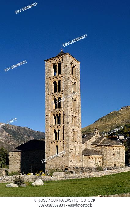 Romanesque church of Sant Climent de Taull, Lleida province, Catalonia, Spain