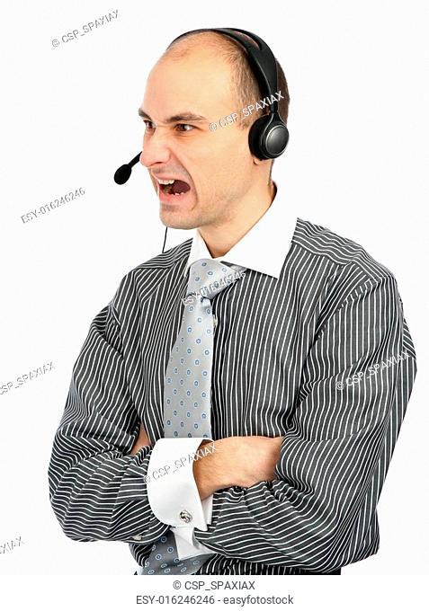 angry phone operator