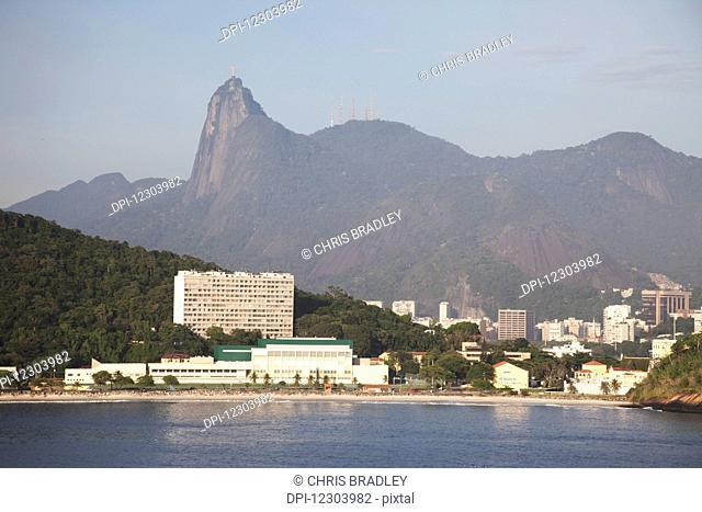 Fora Beach, Christ the Redeemer statue; Rio de Janeiro, Brazil