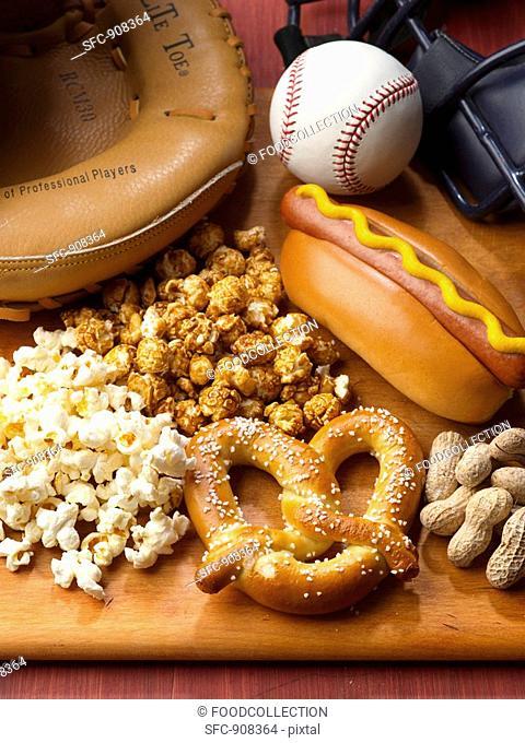 Baseball Game Foods