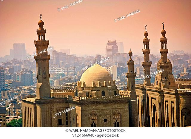 Mosque and Madrasa of Sultan Hassan founded (1356) by Sultan Hassan