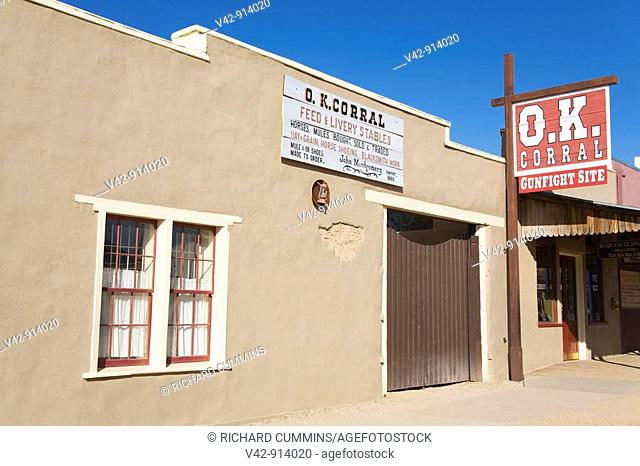 O K  Corral & Historama, Tombstone, Cochise County, Arizona, USA