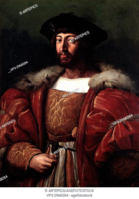 Raphael Sanzio -. Lawrence II of Medici, Duke of Urbino, father of Catherine de Medici -. 16th century