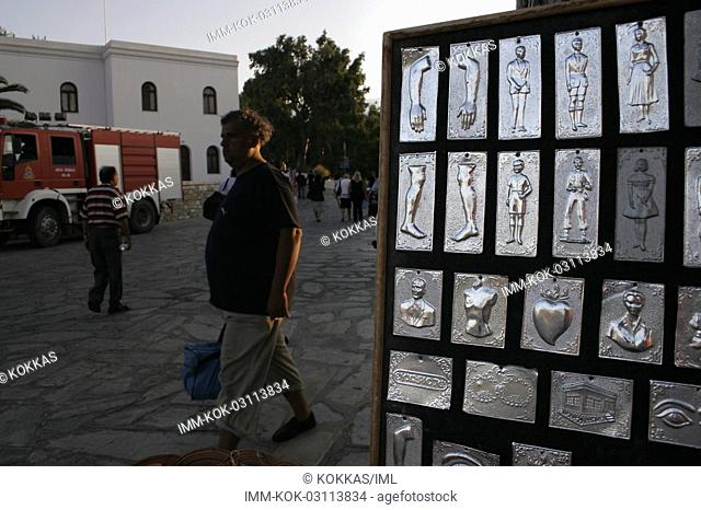 Icons for vows Tinos, Cyclades, Greece