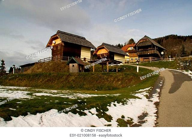 Dorf Diex in Kärnten
