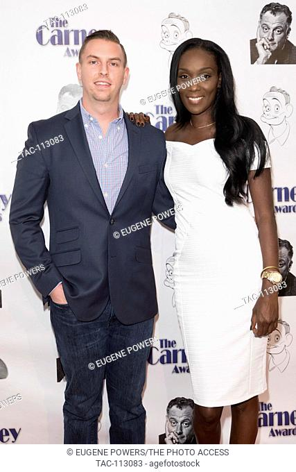 James Wasniewski, Charmayne Thorne arrives at 2nd Annual Carney Awards at the Paley Center for Media