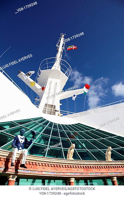 Cover Cruising Adventure of the Seas cruise line Royal Caribbean International