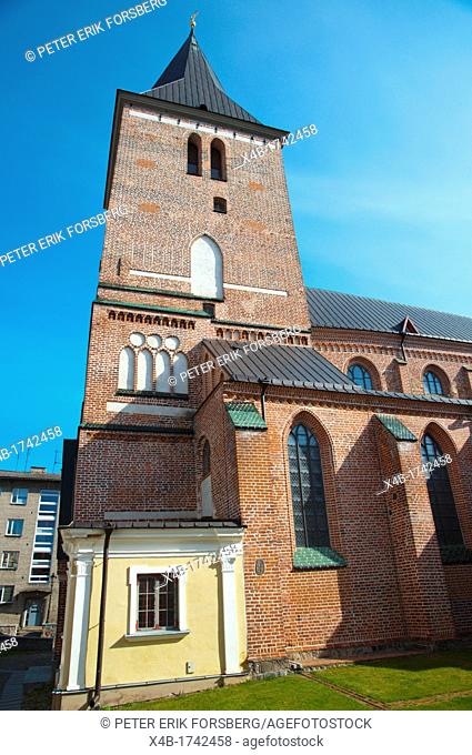 Jaani kirk the St John's church old town Tartu Estonia the Baltic States Europe