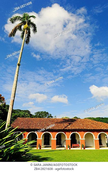 Hacienda de La Luz (Hacienda Wolter), Finca Cacaotera de la Chontalpa, Tabasco, Mexico, America
