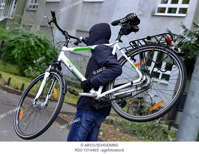Fahrraddieb, Symbolfoto