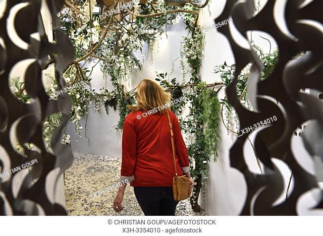 """"""""""""""""""""""" Eden"""""""", jardin par Philippe Collignon et David Bitton, Festival international des jardins, edition 2019, """""""" Jardins de Paradis"""""""""""