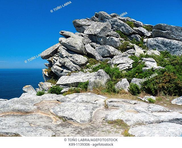 Islas Cíes Natural Park. Pontevedra province, Galicia, Spain