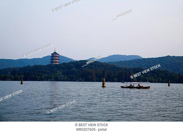 West Lake,Hangzhou,Zhejiang Province,China