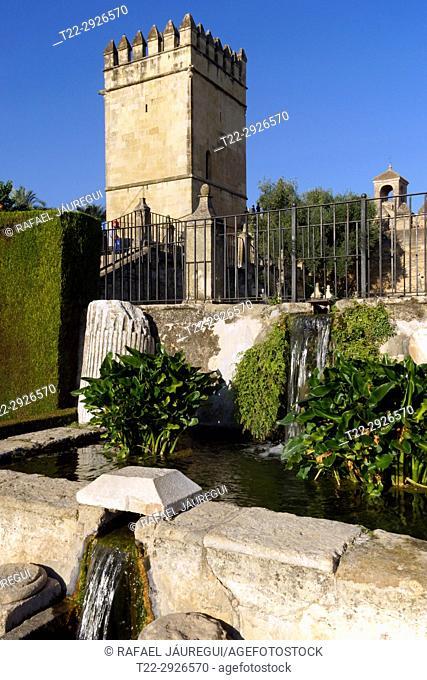 Cordoba (Spain). Alcázar de los Reyes Cristianos in Cordoba
