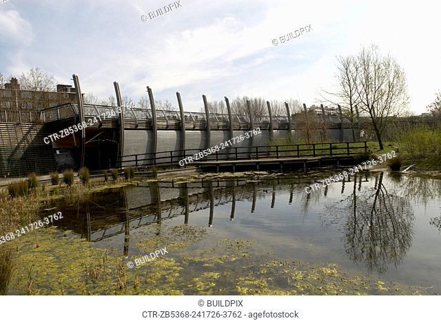 Mile End Park, East London, UK