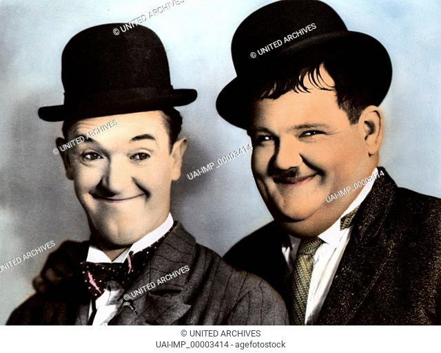 Die große Metro-Lachparade, (MGM'S BIG PARADE OF COMEDY) USA 1963, Regie: Robert Youngson, STAN LAUREL, OLIVER HARDY, Stichwort: Dick und Doof, Melone