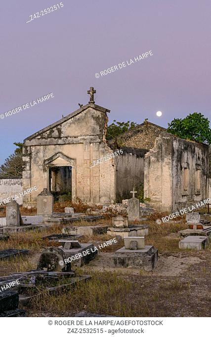 The old Christian cemetery. Ibo Island. Mozambique