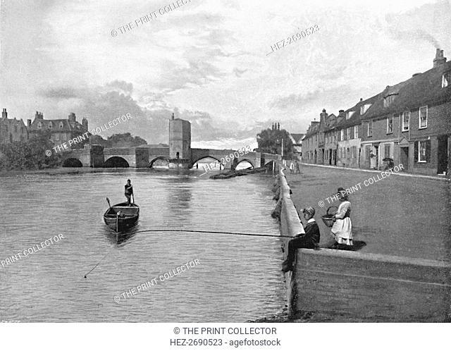 'St. Ives Bridge, Huntingdon', c1896. Artist: A Hendrey