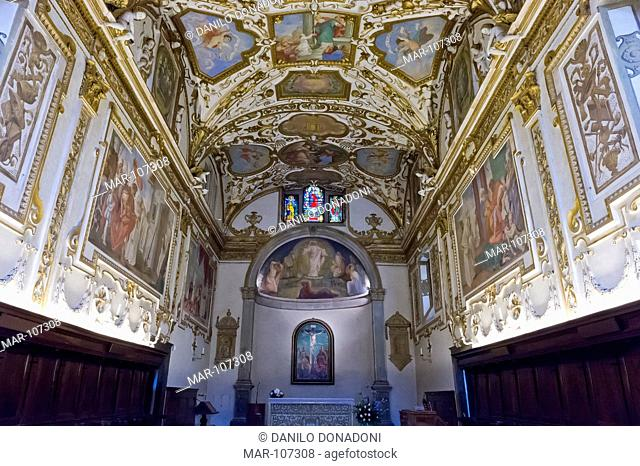 camaldoli church, foreste casentinesi national park, italy