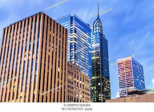 Canada, Ontario, Toronto, Modern architecture