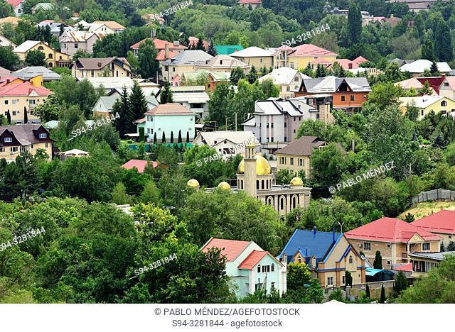 View from Kok-Tobe hill, Almaty, Kazakhstan