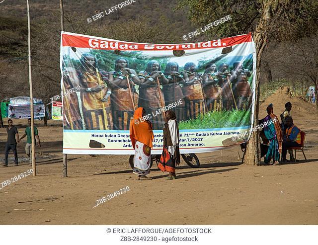 Gada system ceremony in Borana tribe, Oromia, Yabelo, Ethiopia