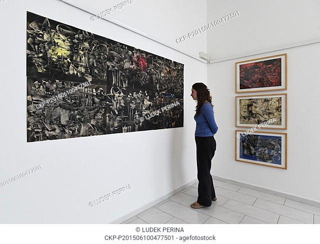 Exhibition of abstract paintings and works on paper by Polish artist Alfred Lenica named Colour, Gesture, Subconsciousness opens in Museum of Modern Art in...