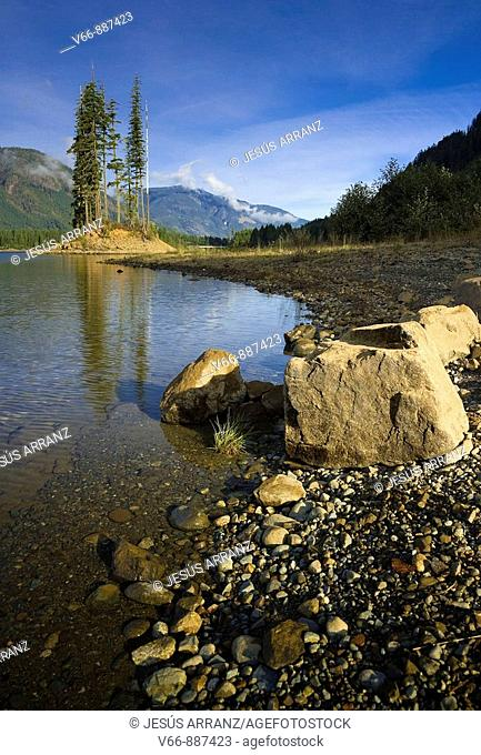 Buttle Lake on Vancouver Island