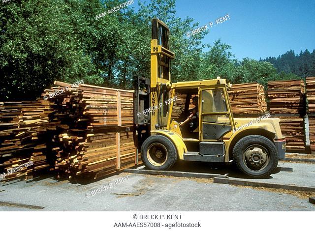 Cut Redwood Arcata Redwood Co. Orick, CA