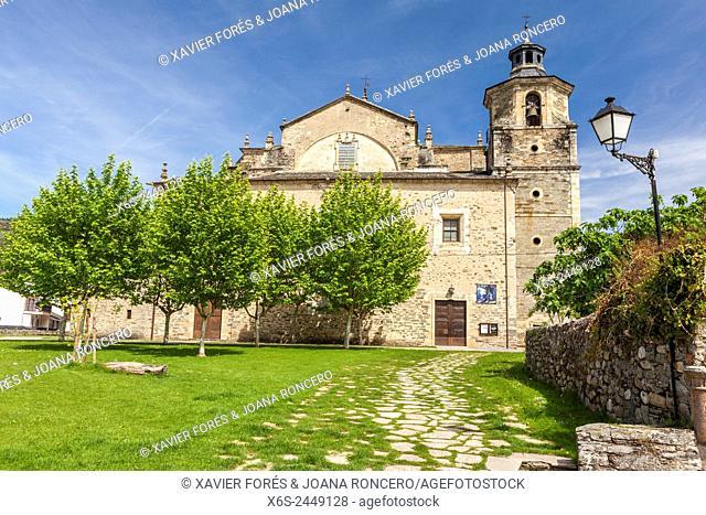 Collegiate church of Santa Maria de Cluniaes in Villafranca del Bierzo, Way of St. James, Leon, Spain