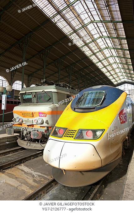 Gare du Nord, Paris, Ile-de-france, France