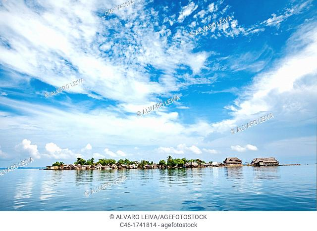 Tupile island, San Blas Islands also called Kuna Yala Islands, Panama