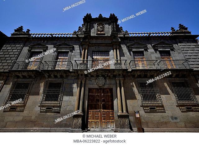 Palacio de Nava, the most splendid secular building of San Cristobal de La Laguna, Tenerife, Canary Islands, Spain