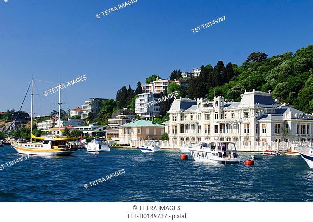 Turkey, Istanbul, Egyptian Consolate on the Bosphorus