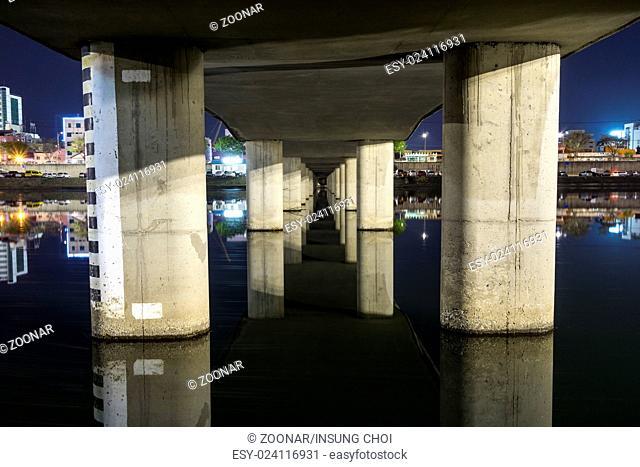 Gangneung under bridge