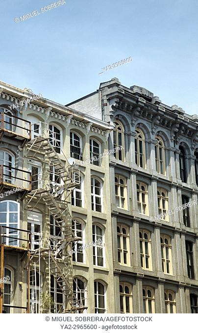 Terraced Building in Philadelphia - US