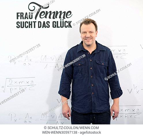 """Actors promoting the new Series """"""""Frau Temme sucht das Glueck"""""""" at Side Hotel Featuring: Ronald Kukulies Where: Hamburg, Germany When: 09 Dec 2016 Credit:..."""