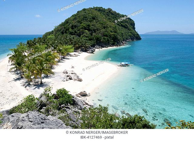 South Sea island, Cabugao Gamay Island, Philippines