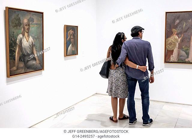 Spain, Europe, Spanish, Madrid, Centro, Atocha, Calle de Santa Isabel, Museo Nacional Centro de Arte Reina Sofía, inside, interior, gallery, art, museum, modern