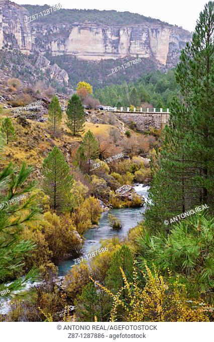 Río Tajo   Peralejos de las Truchas  Parque Natural del Alto Tajo  Guadalajara