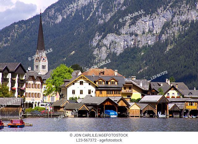 Hallstatt, Upper Austria, Salzkammergut, Styria, Austria