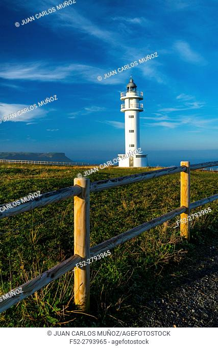 Ajo Lighthouse, Ajo, Cantabrian Sea, Cantabria, Spain, Europe