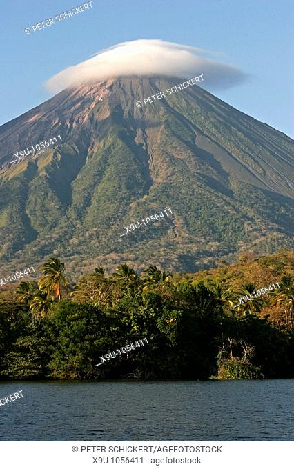 Concepciòn, active volcano on Ometepe Island, Nicaragua, Central America