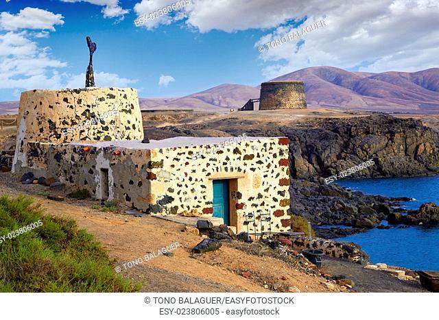 El Cotillo Fuerteventura at Canary Islands of Spain