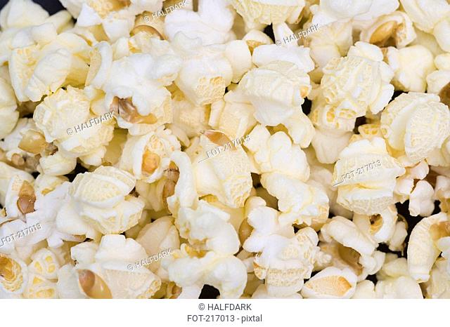 Popcorn, close-up