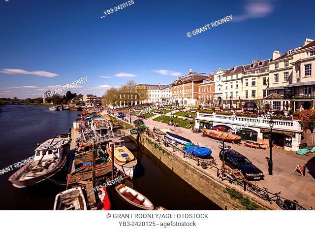 The River Thames at Richmond, London, England