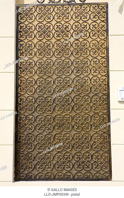Close Up of Arabesque Architectural Detail  Dubai, United Arab Emirates