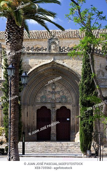 Church of San Pablo (13th-16th century), Ubeda. Jaen province, Andalucia, Spain
