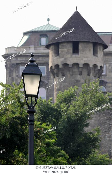 Buda Castle, and a bastion of light