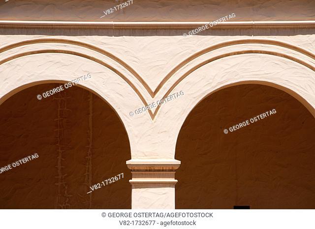 Arches, Casa del Prado, Balboa Park, San Diego, California